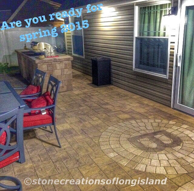 Long Island, are you ready for Spring 2015..We Are... www.stonecreationsoflongisland.net
