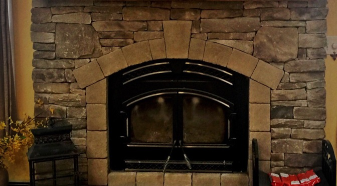 Fireplace Remodel w/ Recliamed Mantle, Westbury, N.Y 11590