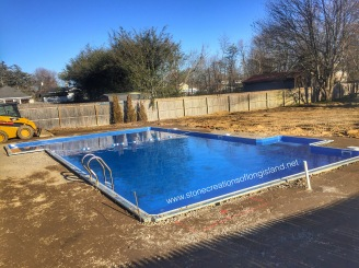 Cambridge Paver Pool Patio with Fire and Water Features, West Islip, N.Y 11795