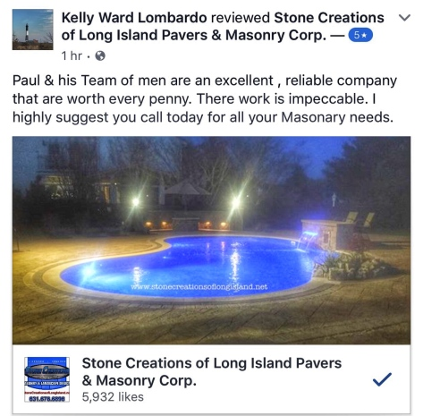 Stone Creations of Long Island Review, West Islip, NY 11795