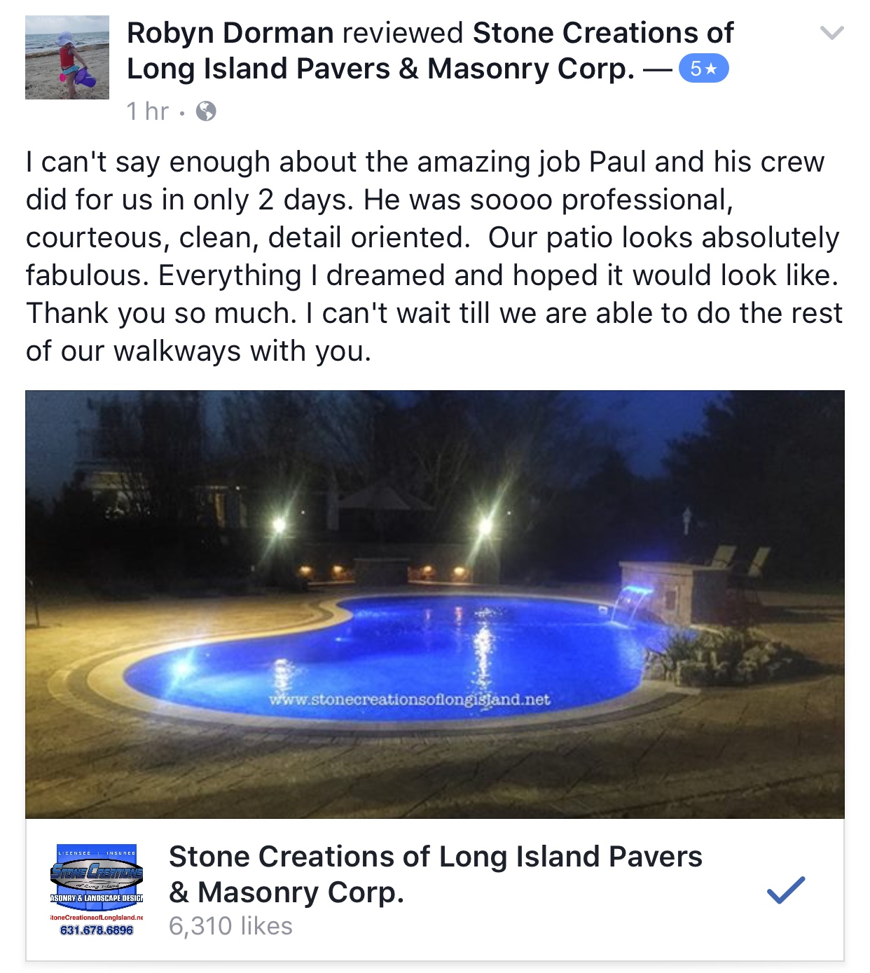 ... Stone Creations Of Long Island Review, Holbrook, NY 11741