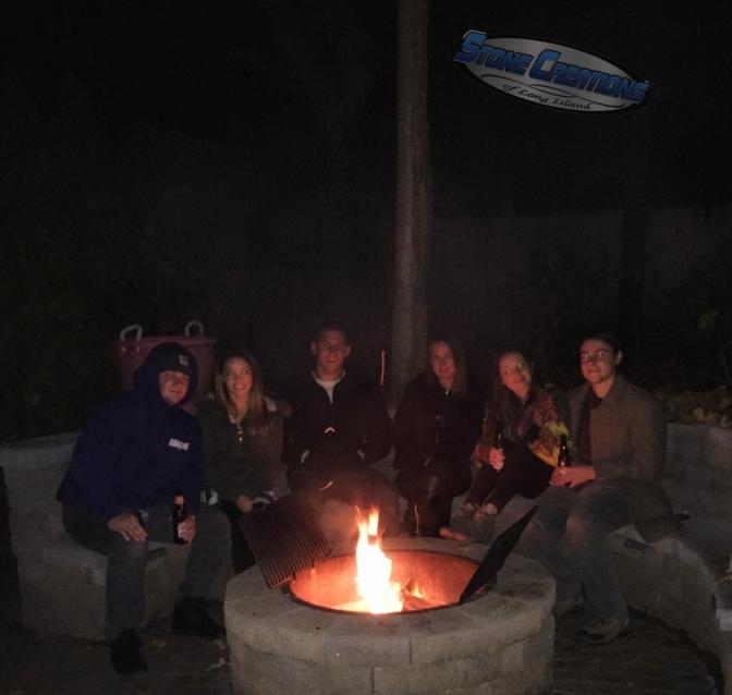 West Hampton Beach Outdoor Living-NY 11978, Cambridge Firepit & Seatwall