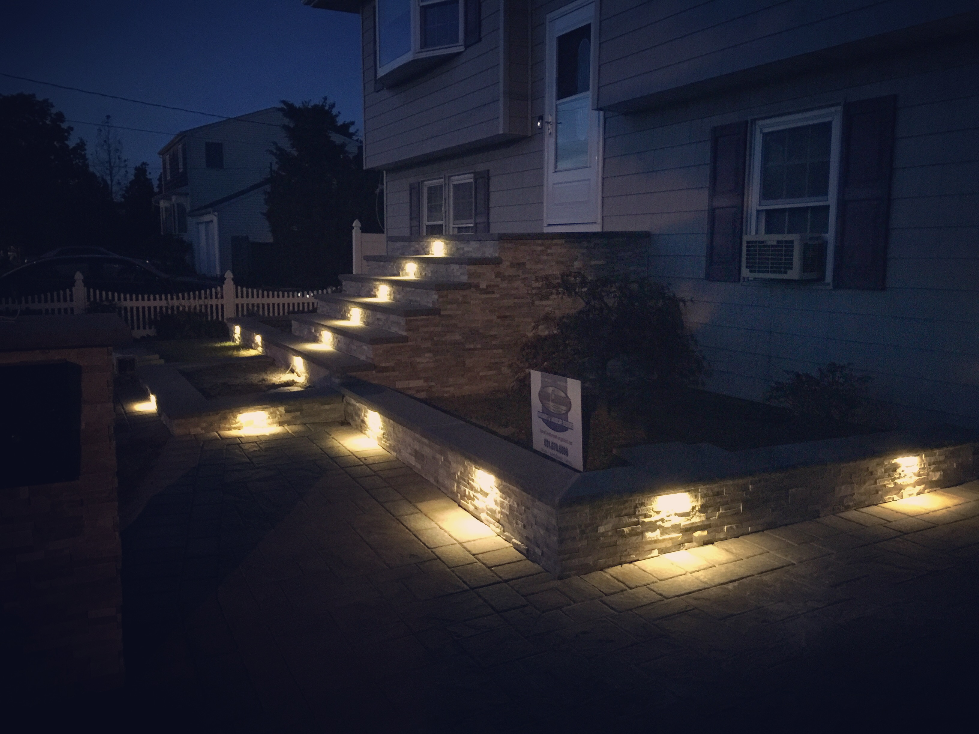 Long Island Hardscape Lighting