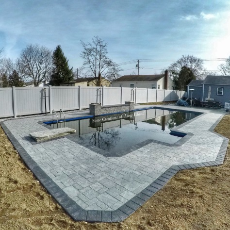 Cambridge Paver Pool Patio